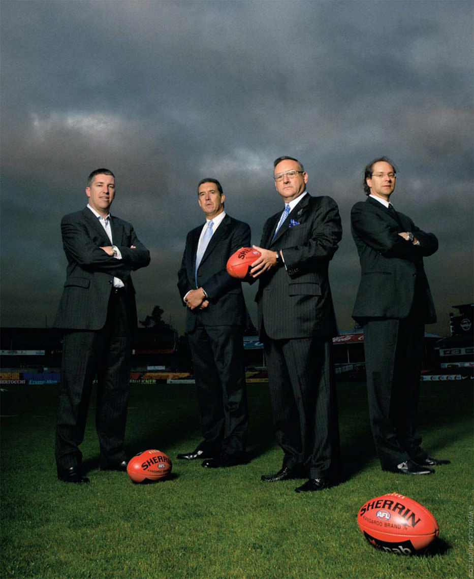 AFR Magazine AFL shoot