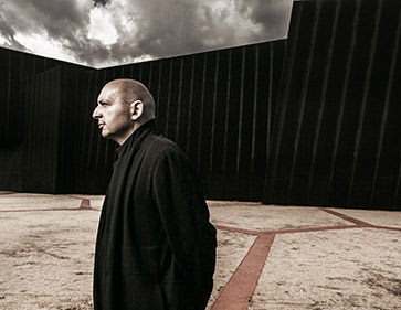 Claudio Silvestrin; architect; portrait; minimilist; glenn hunt