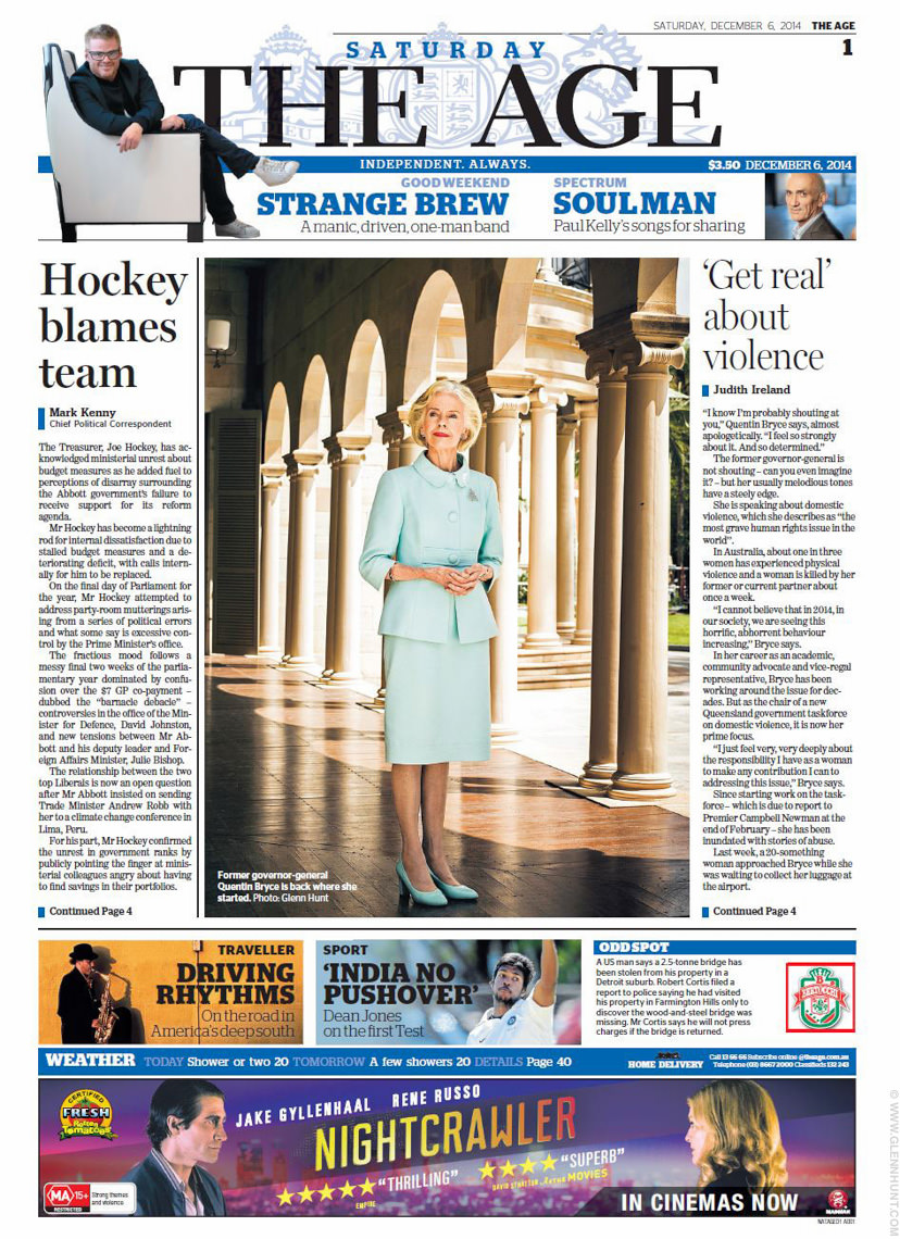 The AGE Quentin BRYCE