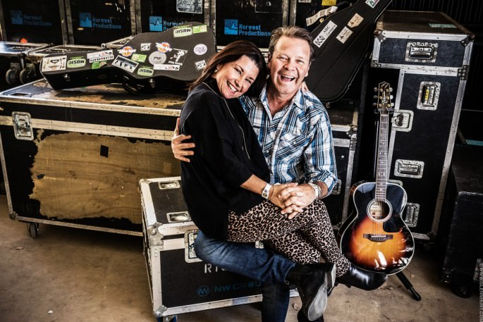 Laurel Edwards and Troy Cassar-Daley