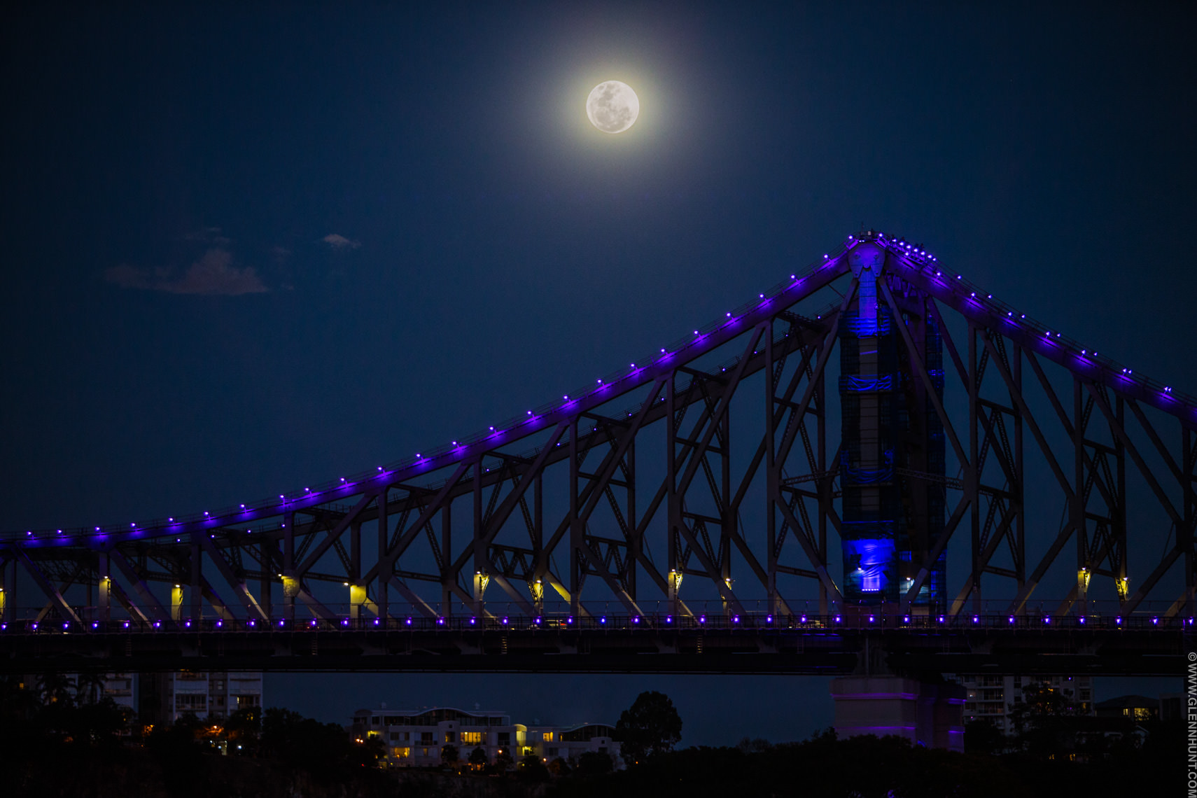 Supermoon Brisbane