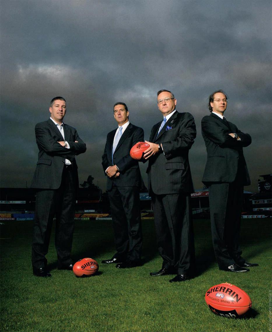AFR Magazine AFL shoot