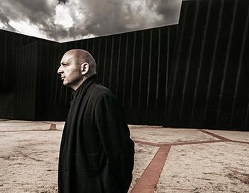 Claudio Silvestrin; architect; portrait; minimilist; glenn hunt