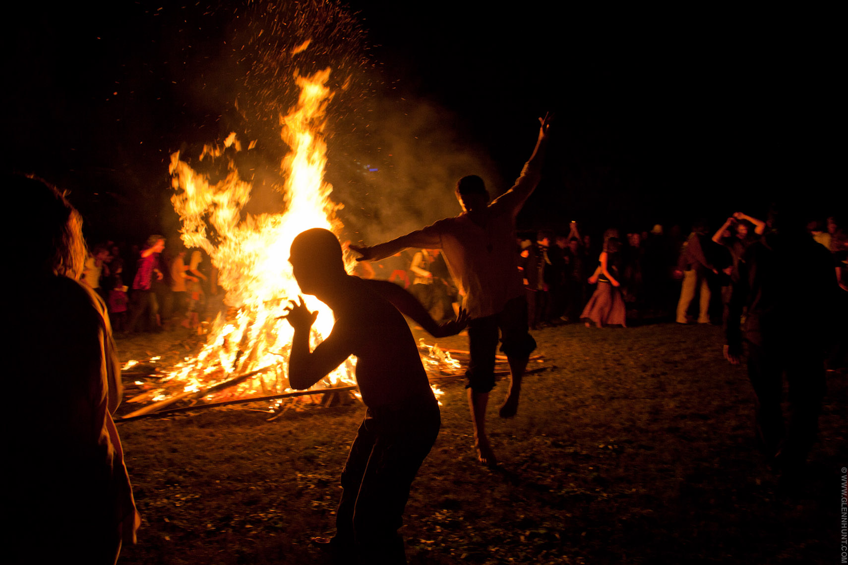 Winter Solstice festival, Brisbane, Australia