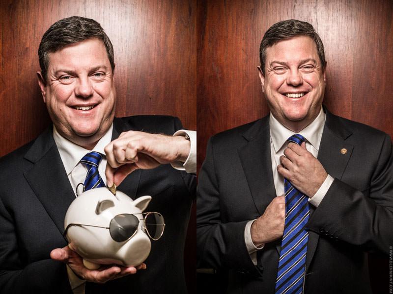 Tim Nicholls, Qld Treasurer
