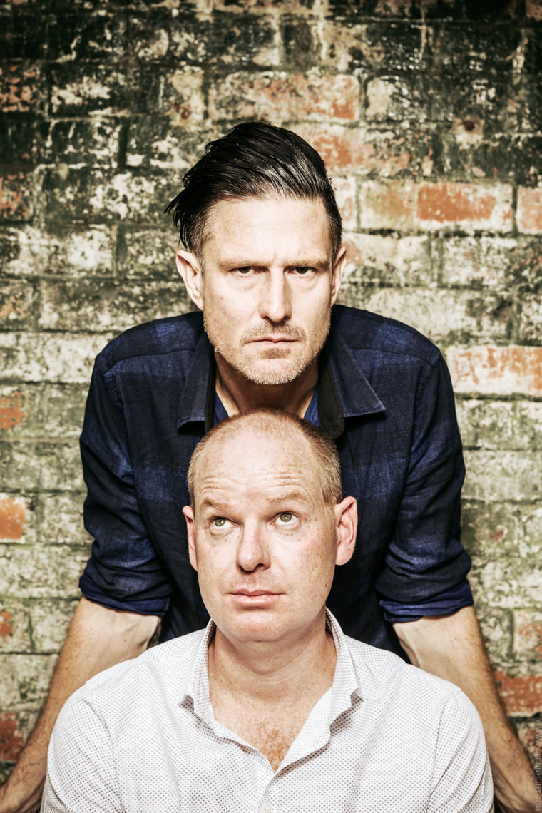 Comedians Wil Anderson & Tom Gleeson