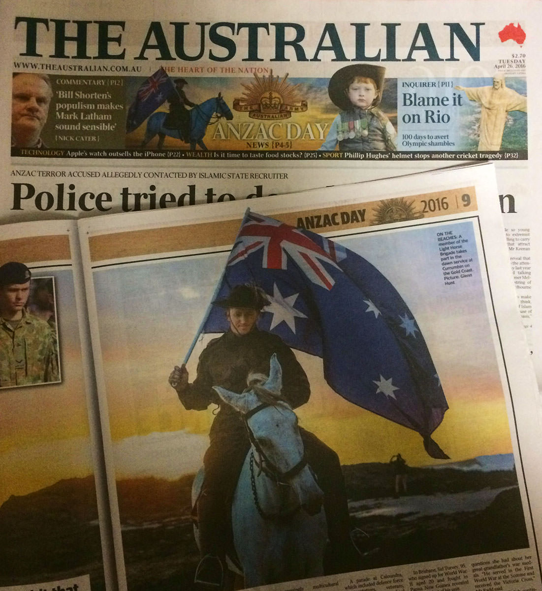 The Australian The Courier Mail