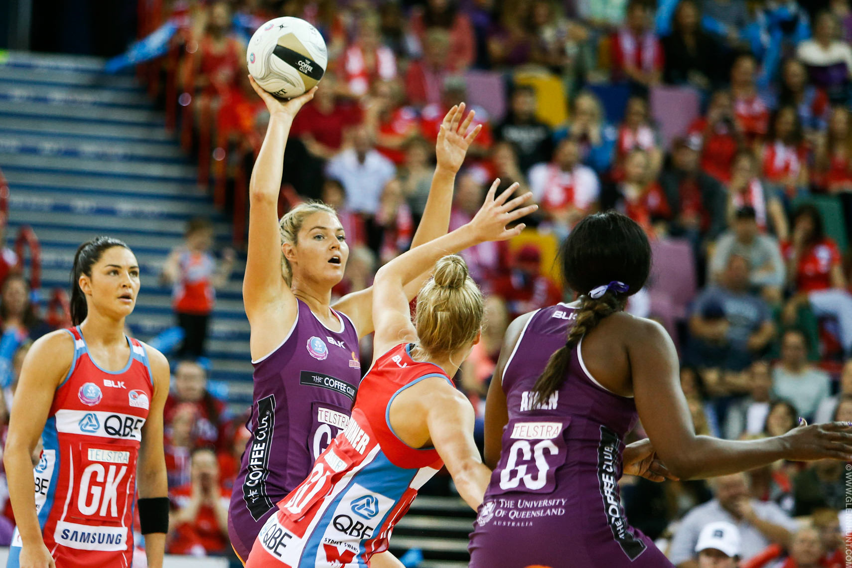 NETBALL GRAND FINAL FIREBIRDS SWIFTS