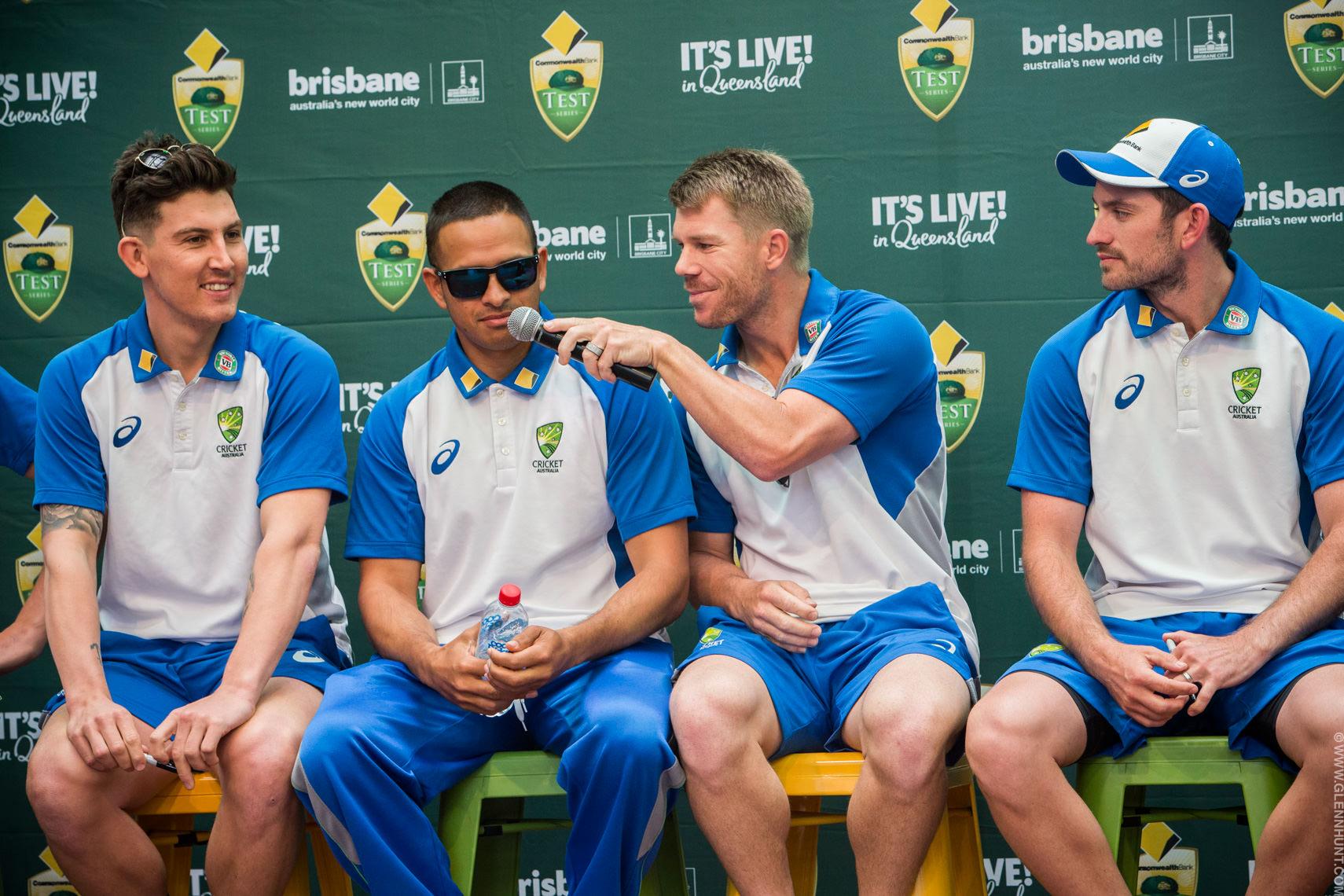Australian Cricket Team Brisbane