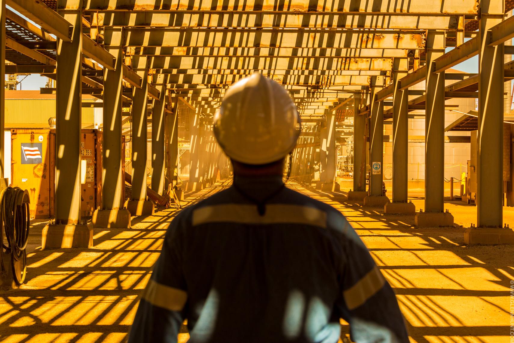 Murrin Murrin, Minara Resources W.A. Murrin Murrin process plant.