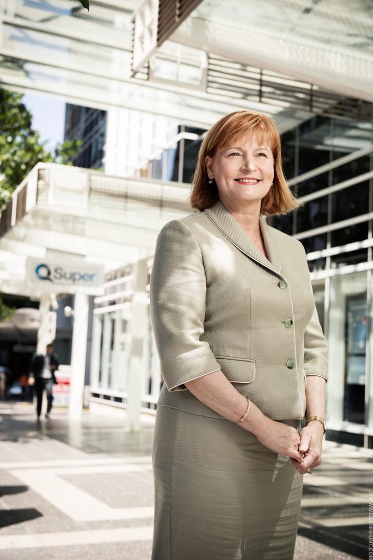 Rosemary Vilgan, CEO QSuper