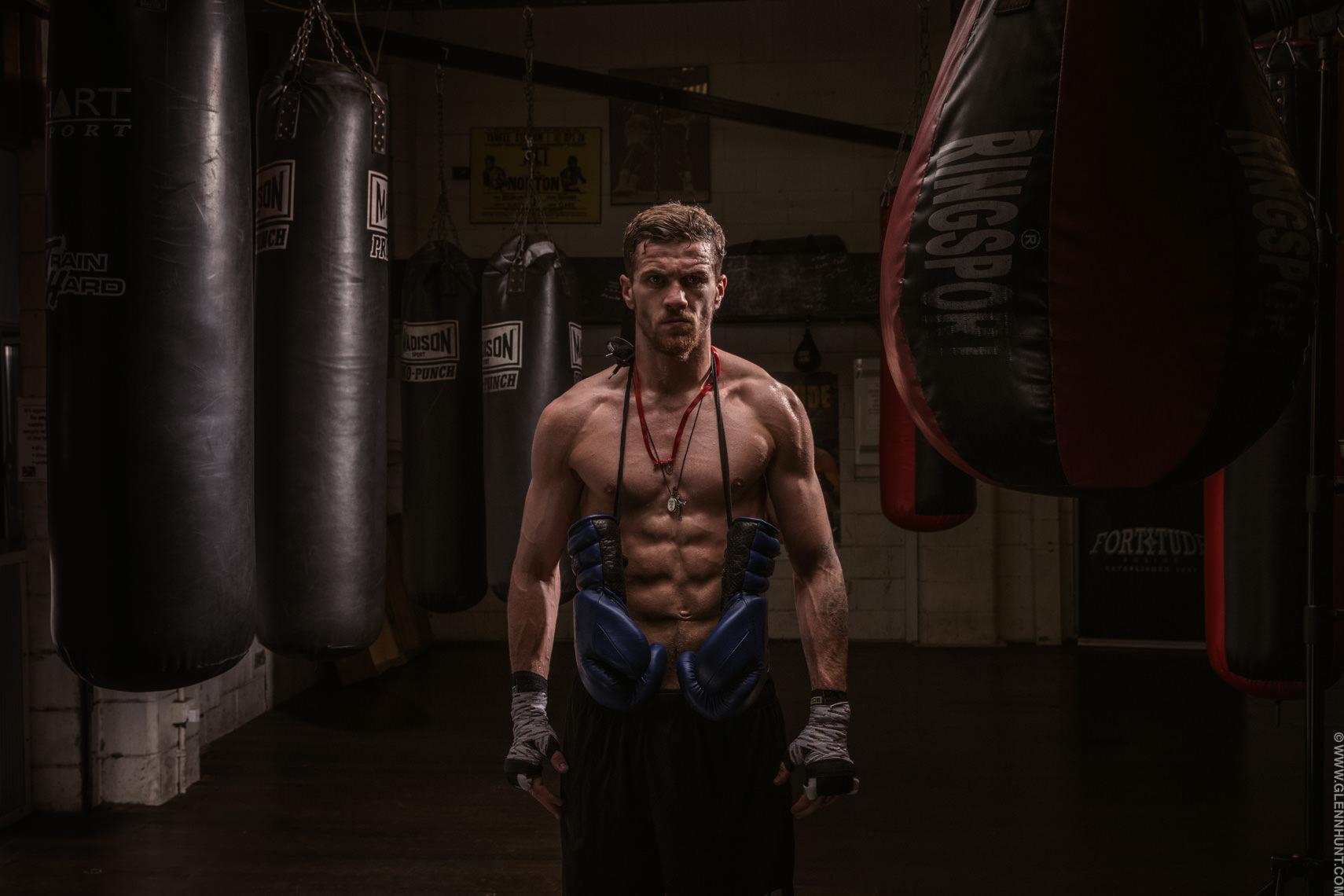 Boxer Gary Corcoran