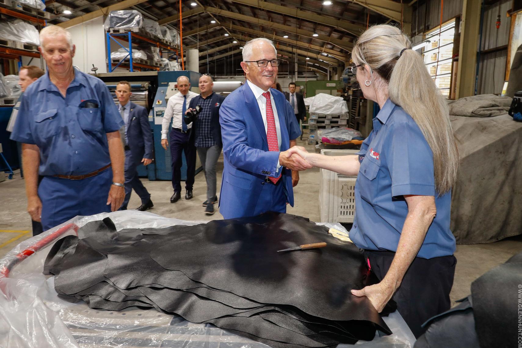 Malcolm Turnbull Brisbane Visit