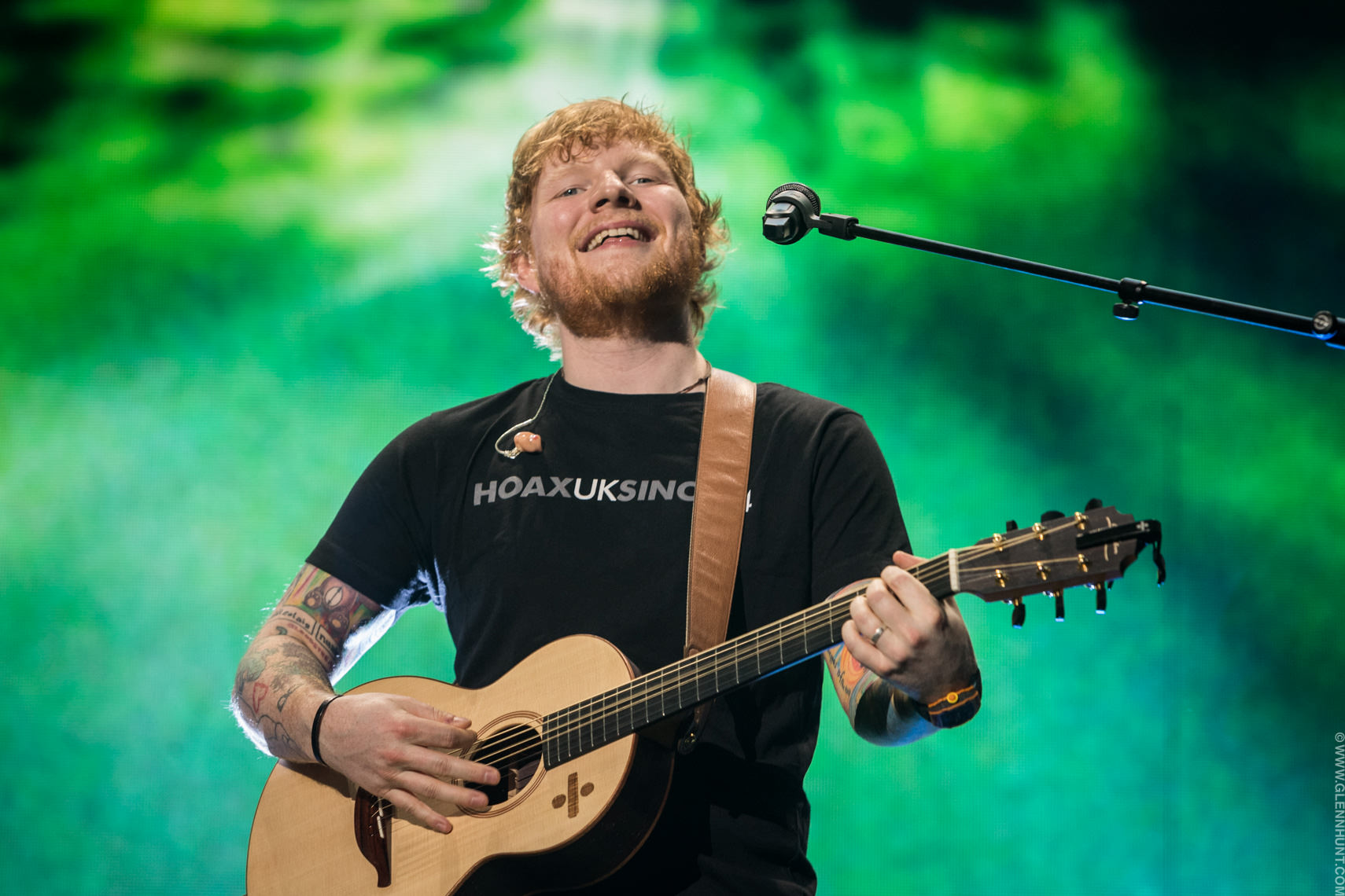 Ed sheeran concert dates in Brisbane