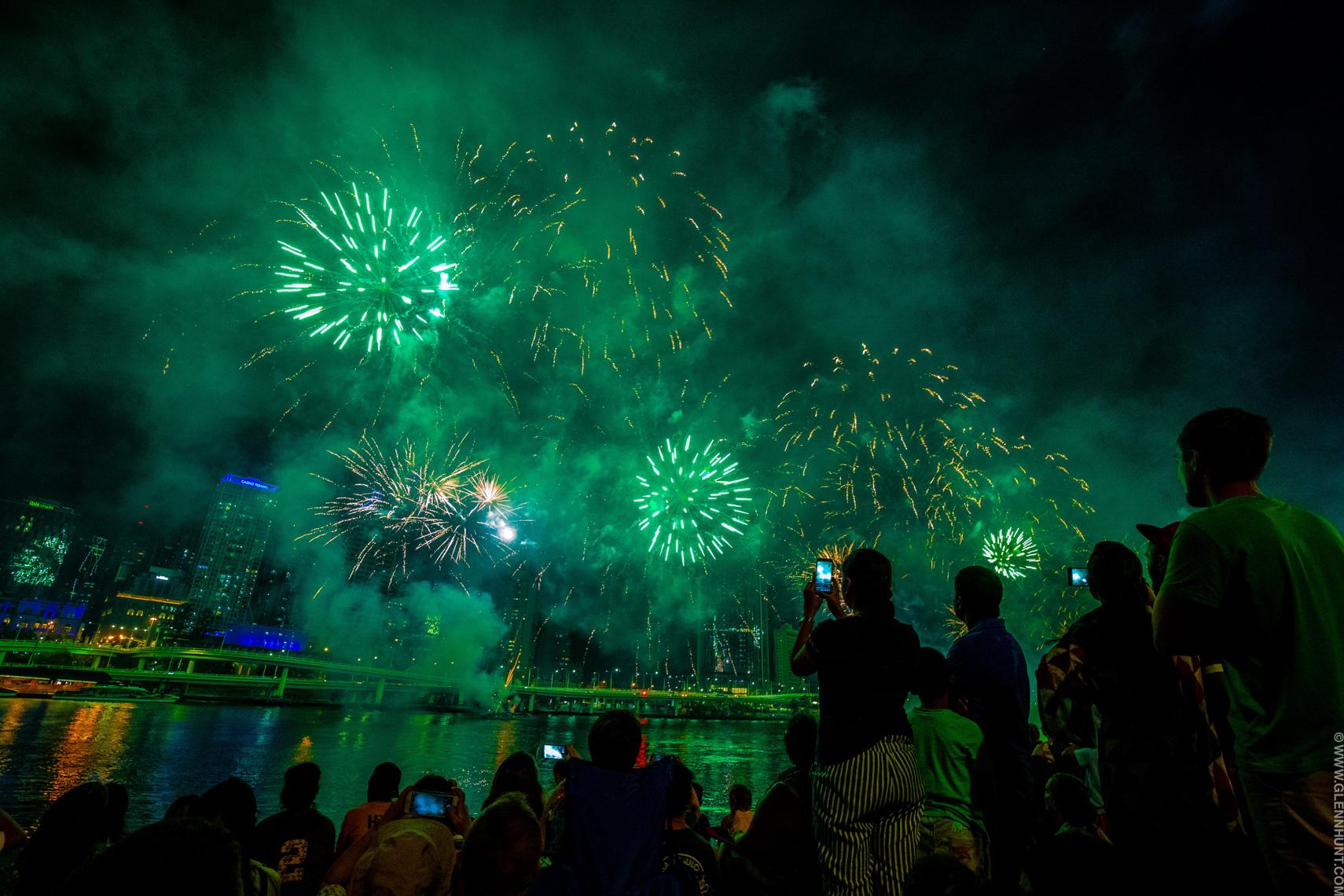Brisbane New Year's Eve Fireworks