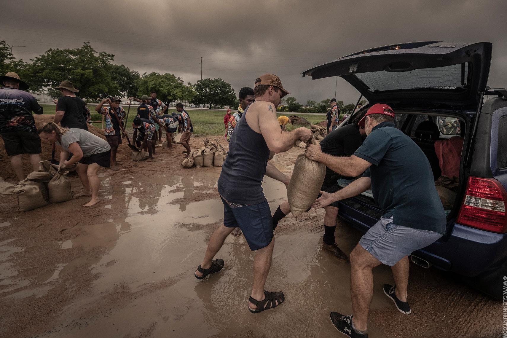 Townsville Sandbagging