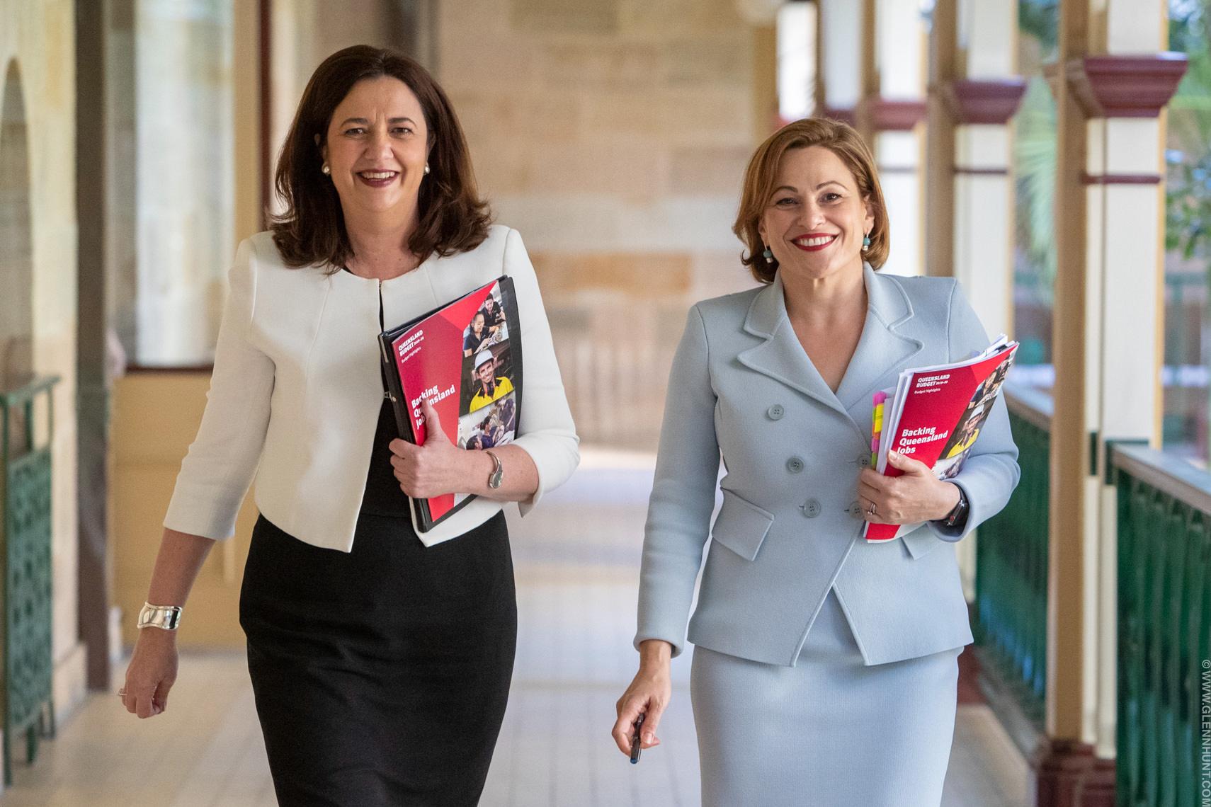 Queensland Premier Annastacia_Palaszczuk and Jackie Trad